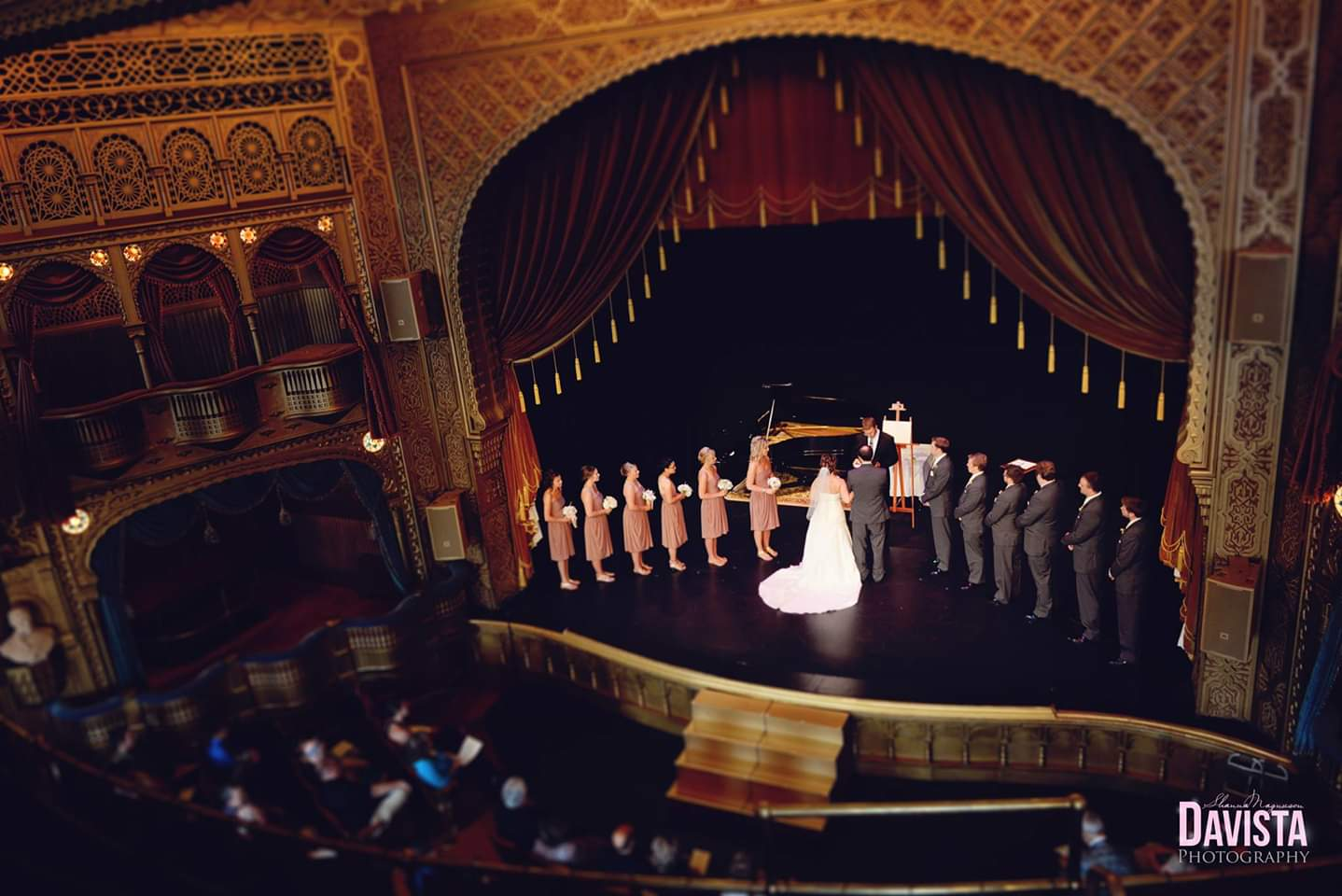 Mabel Stage Wedding