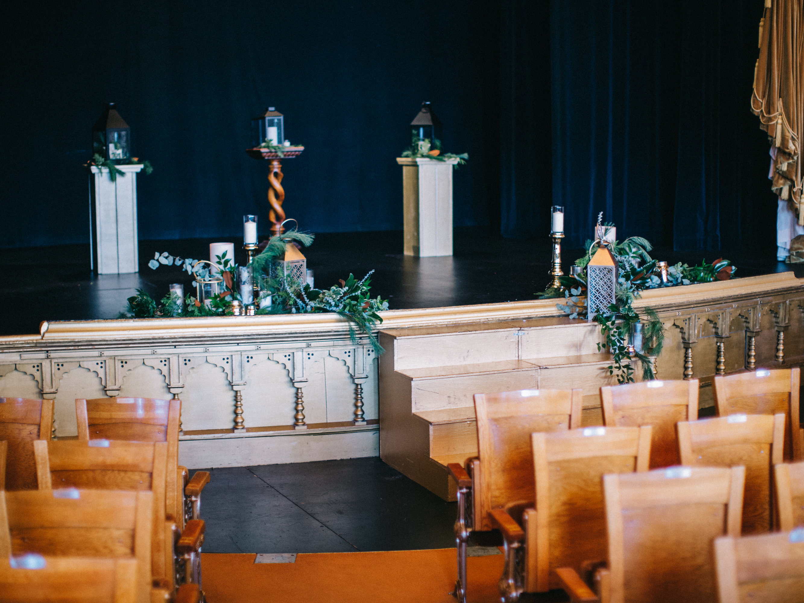 Mabel Stage Wedding Set-up